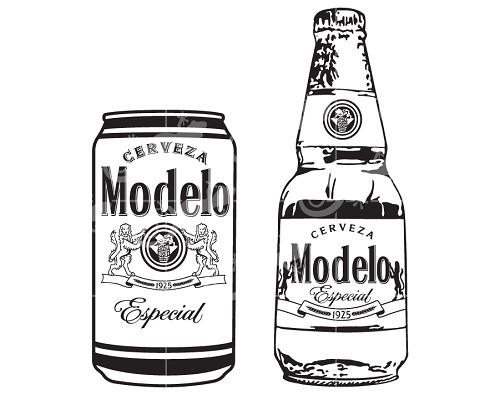 Download Modelo Beer Bottle and Can Svg Design-LLD_DE43_MBBC